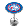 Philadelphia 76ers NBA Chrome Pub Table