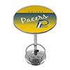Indiana Pacers Hardwood Classics NBA Chrome Pub Table