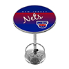 New Jersey Nets Hardwood Classics NBA Chrome Pub Table