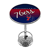 Philadelphia 76ers Hardwood Classics NBA Chrome Pub Table