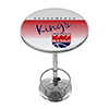 Sacramento Kings Hardwood Classics NBA Chrome Pub Table
