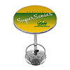 Seattle Super Sonics Hardwood Classics NBA Chrome Pub Table