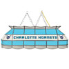 Charlotte Hornets NBA 40 Inch Stained Glass Lamp