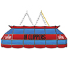Los Angeles Clippers NBA 40 Inch Stained Glass Lamp