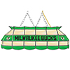 Milwaukee Bucks NBA 40 Inch Stained Glass Lamp