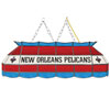 New Orleans Pelicans NBA 40 Inch Stained Glass Lamp