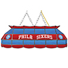Philadelphia 76ers NBA 40 Inch Stained Glass Lamp