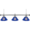 Los Angeles Clippers NBA 3 Shade Billiard Lamp