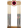 Houston Rockets NBA Billiard Cue Rack with Mirror