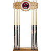Miami Heat NBA Billiard Cue Rack with Mirror