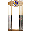 Phoenix Suns NBA Billiard Cue Rack with Mirror