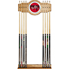 Chicago Bulls Hardwood Classics NBA Cue Rack with Mirror