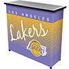 Los Angeles Lakers Hardwood Classics NBA Portable Bar w/Case