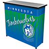 Minnesota Timberwolves Hardwood Classics NBA Portable Bar w/Case