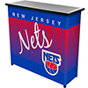 New Jersey Nets Hardwood Classics NBA Portable Bar w/Case