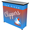 San Diego Clippers Hardwood Classics NBA Portable Bar w/Case