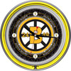Vintage Boston Bruins® Neon Clock - 14 inch Diameter