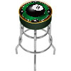 Rack'em 8-Ball Padded Bar Stool - Made In USA