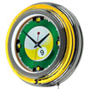 9-Ball 14-inch Neon Wall Clock