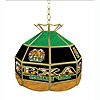 Texas Hold 'em Stained Glass Billiard Lamp - 16 Inch