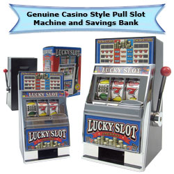 Lucky Slot Machine Bank - Play the Game Image