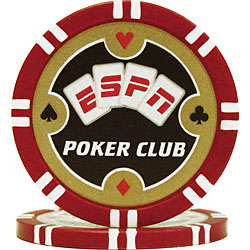 ESPN® Poker Club Professional 11.5g Poker Chips