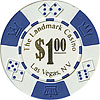Landmark Casino Lucky Crowns 11.5g Poker Chips w/Dollars