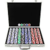 1000 11.5g Hold'em Poker Chip Set with Aluminum Case