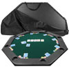 51 x 51 inch Octagon Padded Poker Tabletop Green