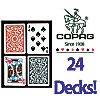 24 Decks of Copag Playing Cards