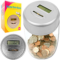 Ultimate Automatic Digital Coin Counting Bank Image