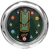 13 Inch Billiards Wall Clock - Quartz Movement