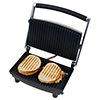 Panini Press Grill and Gourmet Sandwich Maker for Healthy Cooking by Chef Buddy