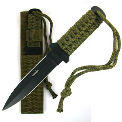Whetstone Stainless Steel Survival Knife w/ Case  6.875 inc