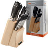 Top Chef Stainless Steel Knife Set - 15 Pieces