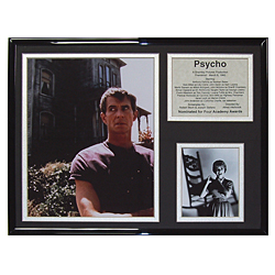 Psycho Limited Edition Collectible Movie Plaque
