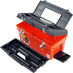 Utility Box with 7 Compartments & Tray Image
