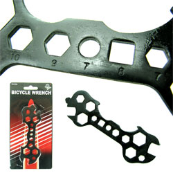 Stalwart 15 in 1 Bicycle Wrench - As Seen on TV