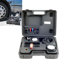 Stalwart Portable Air Compressor Kit w/ Light