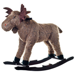 Happy Trails Plush Rocking Max Moose