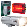 Whetstone Bicycle Headlight and Taillight Set - Bike Safely