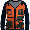 Whetstone Nylon 7 Pocket Vest w/ 4 Adjustable Straps