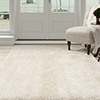 Lavish Home Shag Area Rug - Beige - 5'3