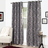 Set of 2 Lavish Home Joy Jacquard Curtain Panel - 84