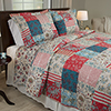 Lavish Home 3 Piece Mallory Quilt Set - Full/Queen