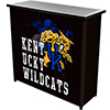 University of Kentucky Wildcats Portable Bar with Case - Smoke