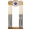 NHL Cue Rack with Mirror - Edmonton Oilers�