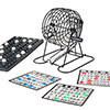 Complete Bingo Set - Deluxe Classic Carnival and Casino Game for Kids and Adults with Tumbler Cage, Master Board, Sheets and Markers by Hey! Play!