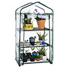 3-Tier Greenhouse ? Outdoor Gardening Hot House with Zippered Cover and Metal Shelves for Growing Vegetables, Flowers and Seedlings by Pure Garden