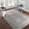Lavish Home Vintage Greek Rug - Grey Brown - 8' x 10'
